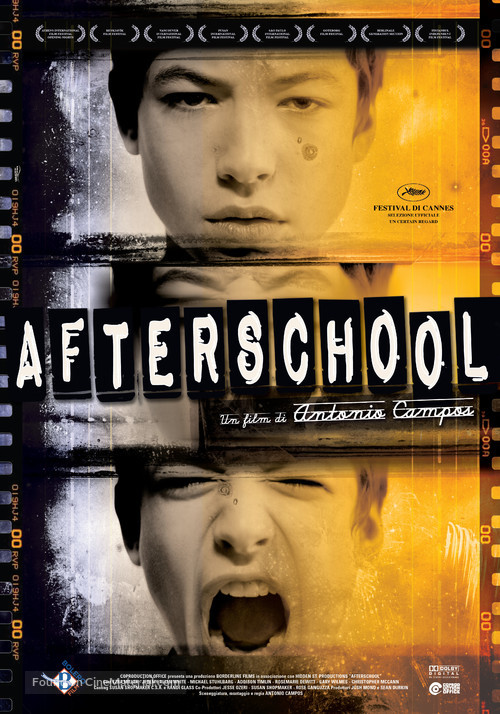 Afterschool - Italian Movie Poster