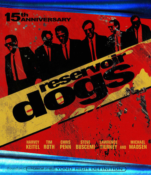 Reservoir Dogs - Blu-Ray movie cover