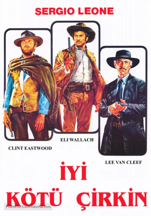 Il buono, il brutto, il cattivo - Turkish Movie Poster