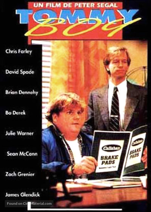 Tommy Boy - French Movie Poster