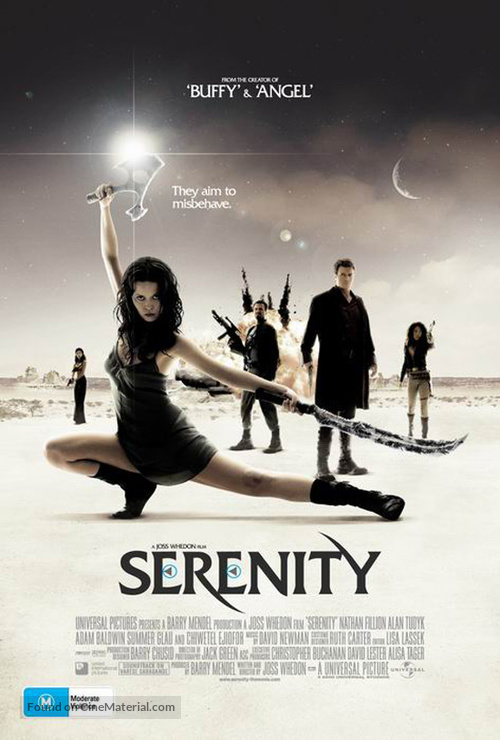 Serenity - Australian Movie Poster