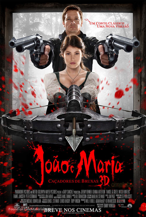 Hansel & Gretel: Witch Hunters - Brazilian Movie Poster