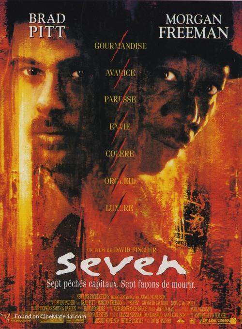 Se7en - French Movie Poster