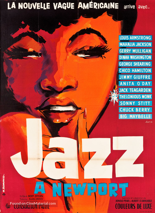 Jazz on a Summer's Day - French Movie Poster