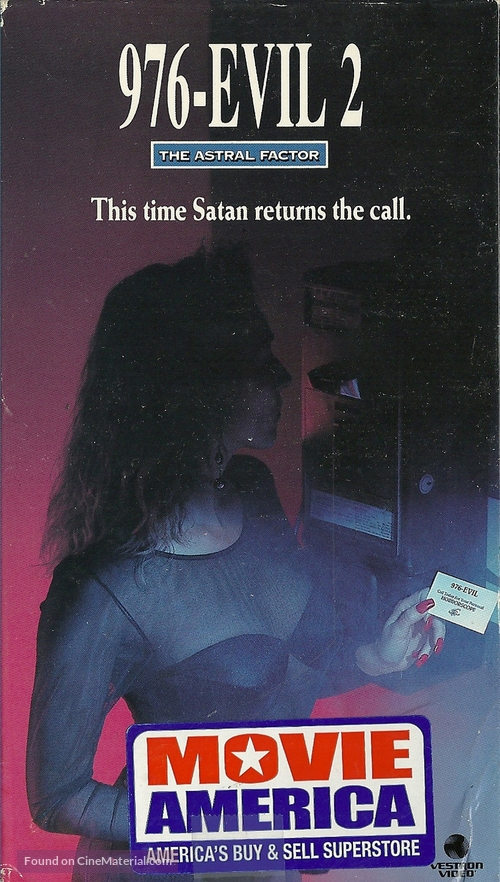 976-Evil II - VHS movie cover
