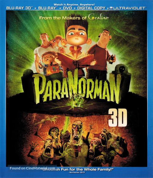 ParaNorman - Blu-Ray movie cover