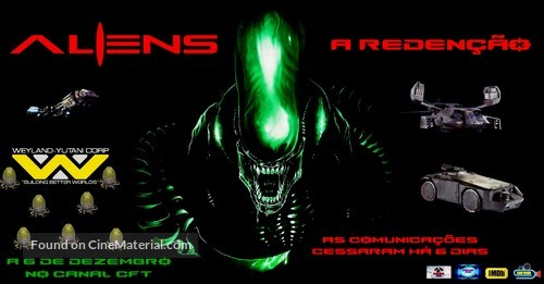 Aliens: A Redenção - Portuguese Movie Poster