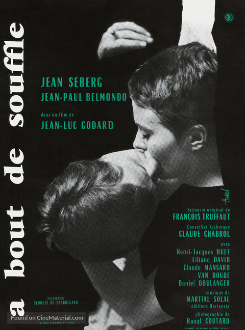 À bout de souffle - French Movie Poster