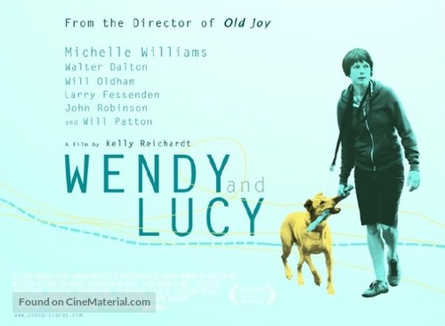 Wendy and Lucy - British Movie Poster