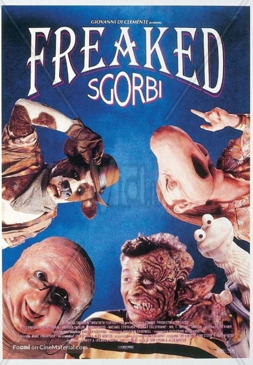 Freaked - Italian DVD movie cover