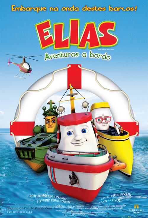 Elias og kongeskipet - Brazilian Movie Poster