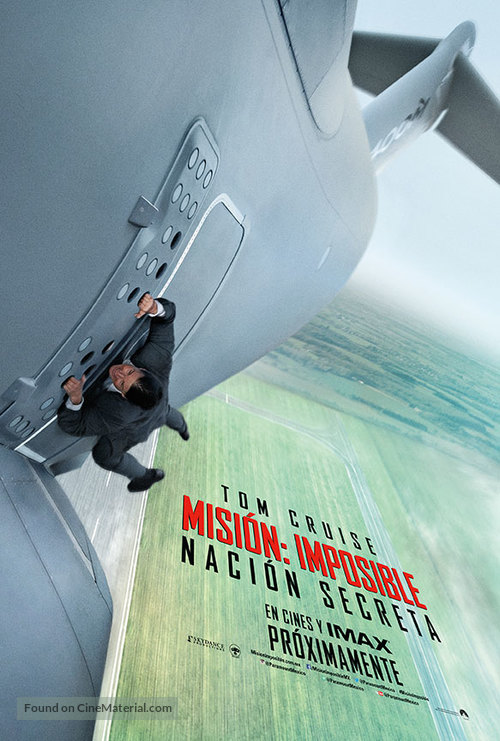 Mission: Impossible - Rogue Nation - Chilean Movie Poster