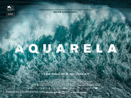 Aquarela - British Movie Poster