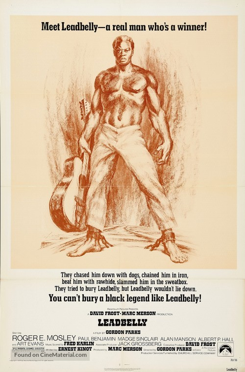 Leadbelly - Movie Poster