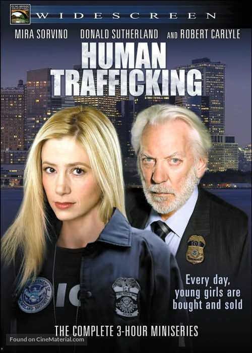 """""""Human Trafficking"""" - DVD movie cover"""