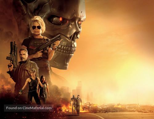 Terminator: Dark Fate - Key art