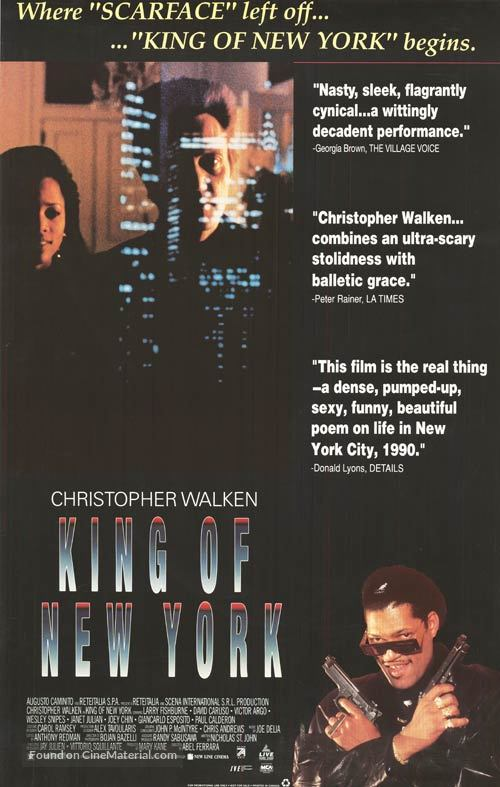 King of New York - Movie Poster