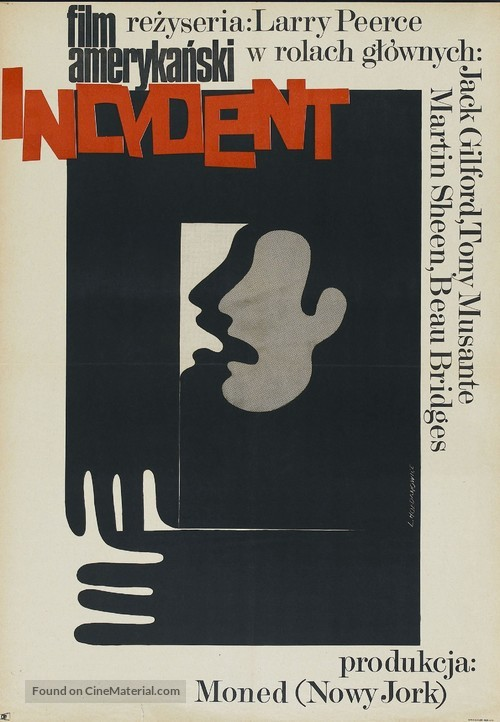 The Incident - Polish Movie Poster