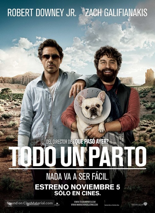 Due Date - Colombian Movie Poster