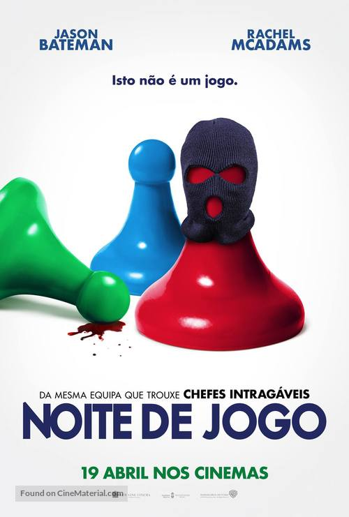 Game Night - Portuguese Movie Poster