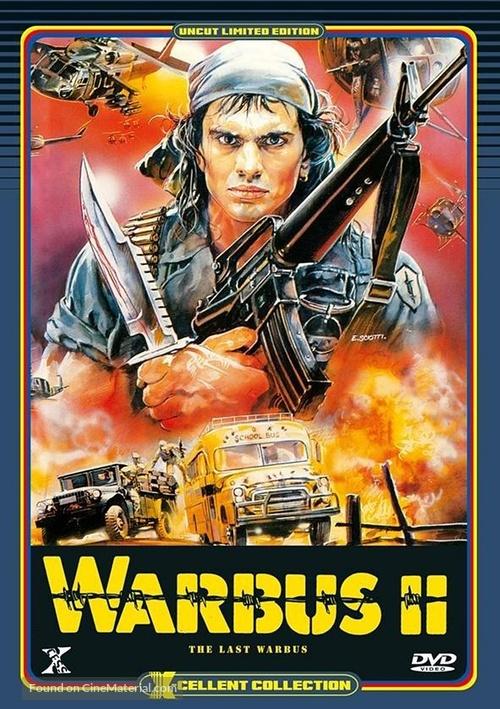 Afganistan - The last war bus (L'ultimo bus di guerra) - German DVD movie cover