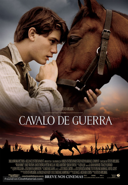 War Horse - Brazilian Movie Poster