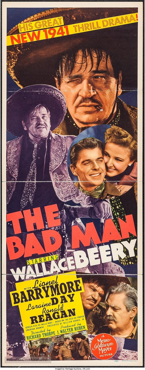 The Bad Man - Movie Poster