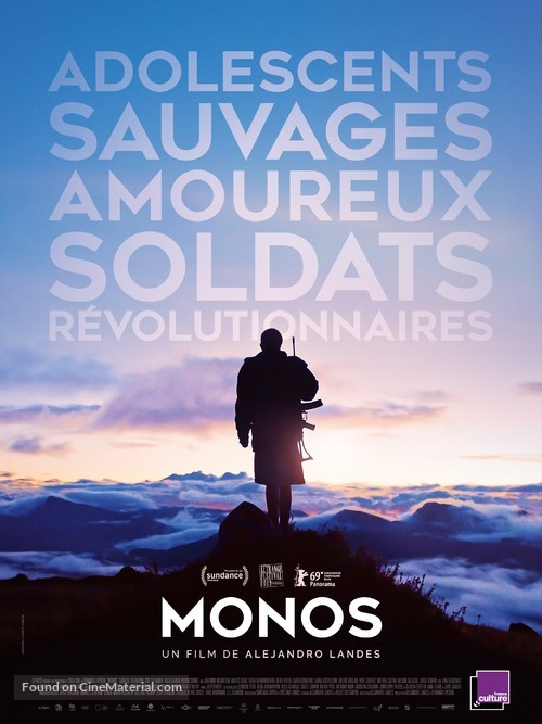 Monos - French Movie Poster
