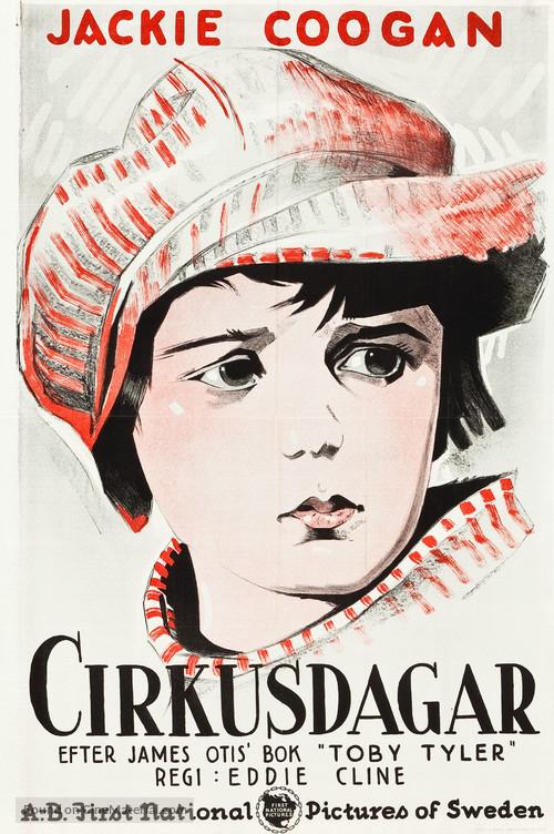 Circus Days - Swedish Movie Poster