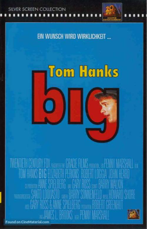 Big - German DVD movie cover
