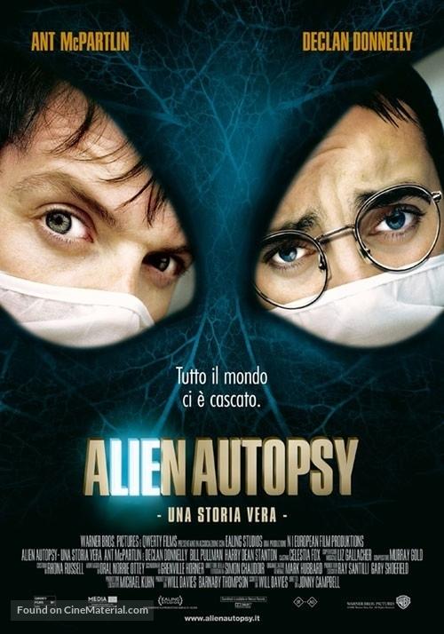 Alien Autopsy - Italian Movie Poster