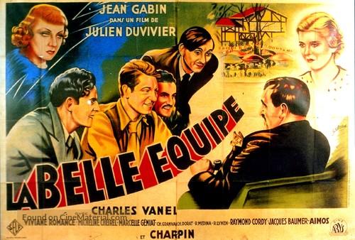 La belle équipe - French Movie Poster