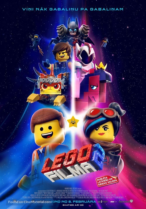 The Lego Movie 2: The Second Part - Latvian Movie Poster
