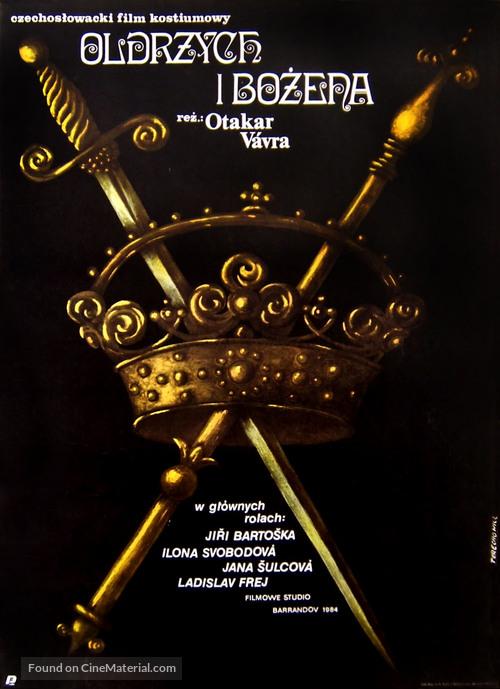 Oldrich a Bozena - Polish Movie Poster