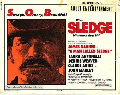 A Man Called Sledge - Movie Poster