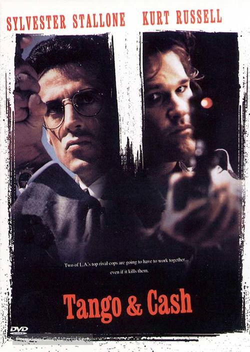Tango And Cash - DVD movie cover
