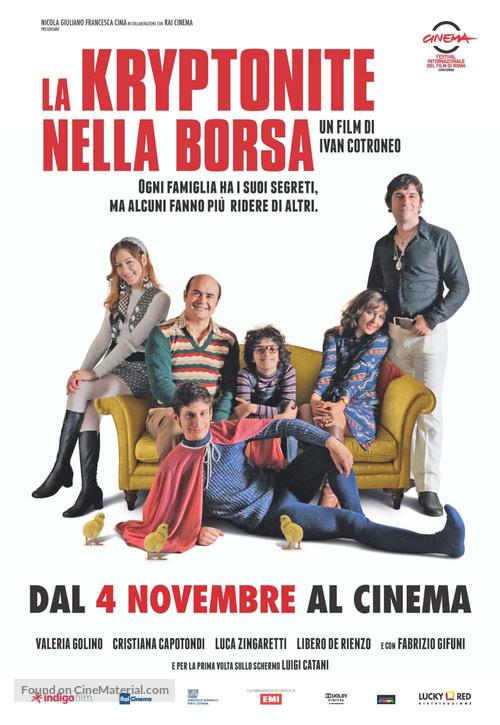 La Kryptonite nella Borsa - Italian Movie Poster