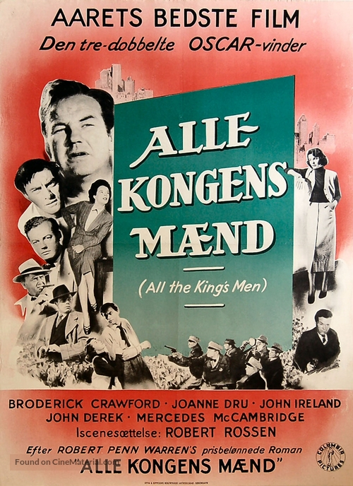 All the King's Men - Danish Movie Poster