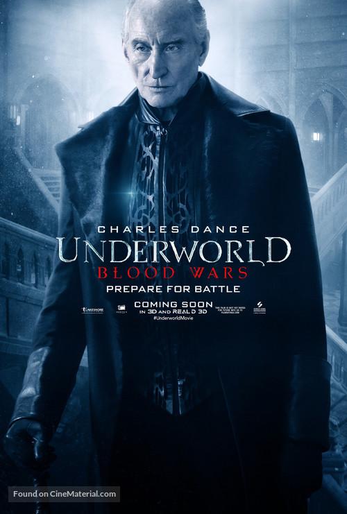 Underworld Blood Wars - Movie Poster