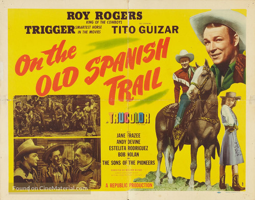 On the Old Spanish Trail - Movie Poster