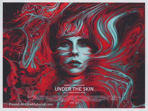 Under the Skin - British poster