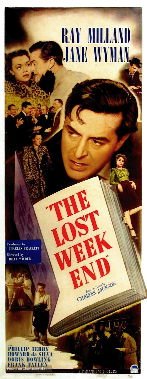 The Lost Weekend - Movie Poster