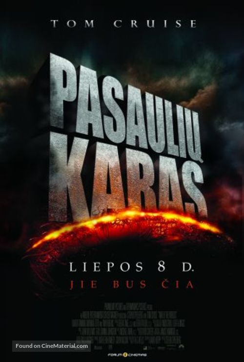 War of the Worlds - Lithuanian Movie Poster