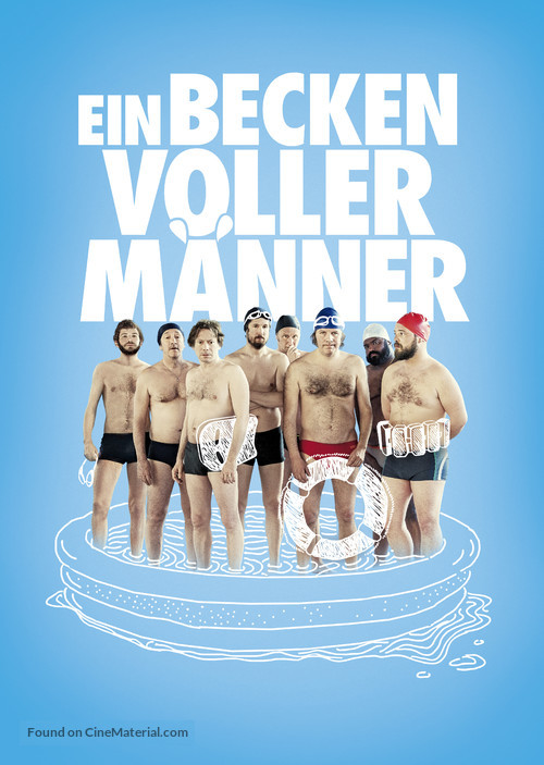 Le grand bain - German Movie Cover
