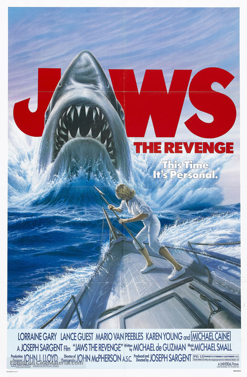 Jaws: The Revenge - Movie Poster
