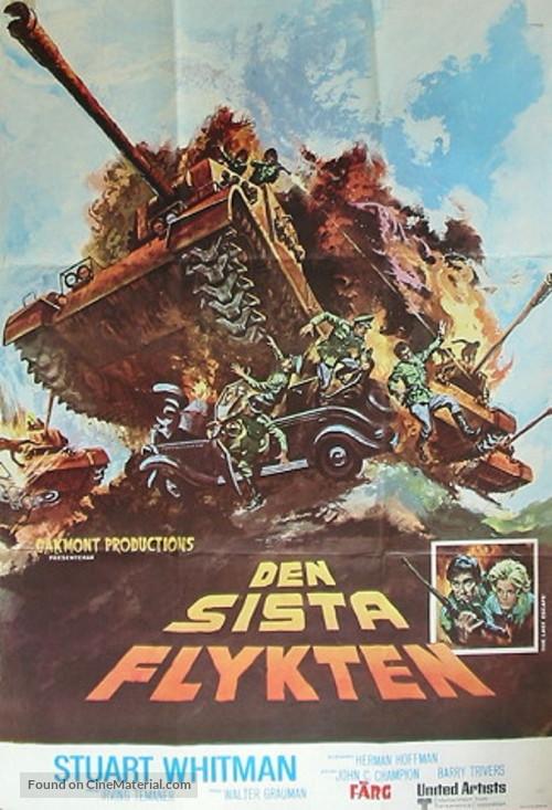 The Last Escape - Swedish Movie Poster