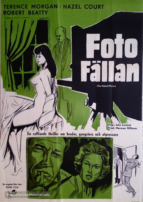 The Shakedown - Swedish Movie Poster