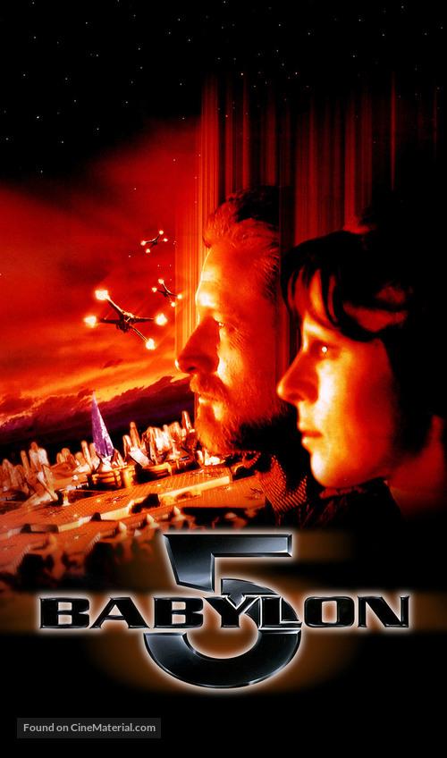 """""""Babylon 5"""" - VHS movie cover"""