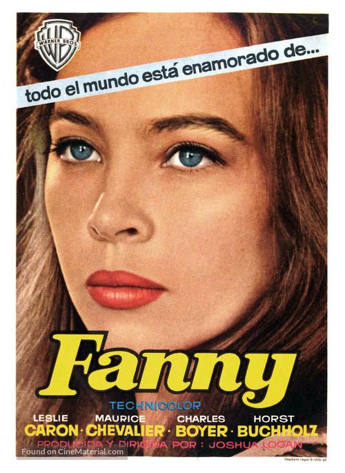 Fanny - Spanish Movie Poster