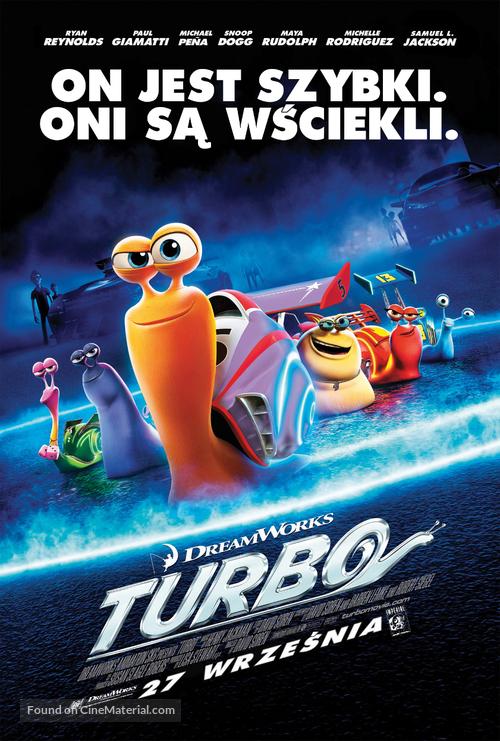 Turbo - Polish Movie Poster
